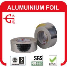 Ruban en aluminium avec doublure et ruban en aluminium argenté