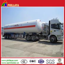 Tanque de armazenamento do caminhão de petroleiro do reboque do portador do recipiente do gás semi