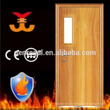 BS476-22 fuego clasificado hotel de la puerta de madera a prueba de fuego