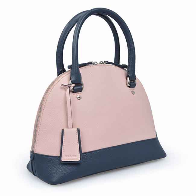 Fashion Shell Shape Handbag Black Leather Tote Bags For Woman