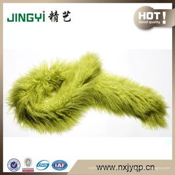 Foulards de peau de mouton mongol tibétain de haute qualité