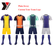 OEM blanc multicolore jersey meilleur football uniforme ensemble vente chaude design football uniforme