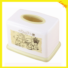 Plastic Rectangle Cartoon Tissue Boxes for Home (FF-5084-3)