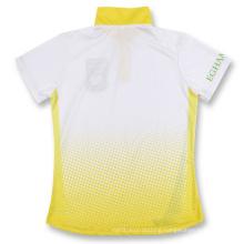 Cheap Men′s Stand Collar Short Sleeve Polo Shirt