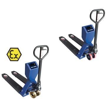 Balança de paleteira com levantamento manual para serviço pesado