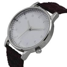 2016 nouvelle montre à quartz de style, montre en acier inoxydable de mode Hl-Bg-084