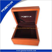 Personalizado de madera natural de madera reloj de embalaje caja de presentación caja de regalo
