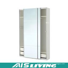 Placard blanc brillant de garde-robe de chambre de laque (AIS-W260)