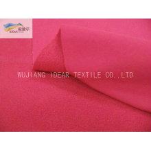 Tafetán de nylon consolidado poly paño grueso y suave tela con TPU membrana de Soft Shell