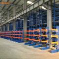 single side welded steel warehouse cantilever racking for rebar storage