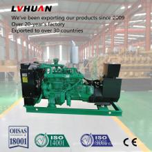 Grupo de gerador do biogás do refrigerador de água do compressor 60kw