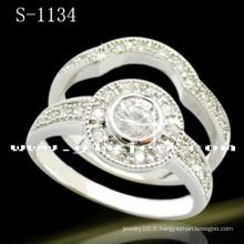 Bijoux en bijoux en argent blanc 925 (S-1134. JPG)