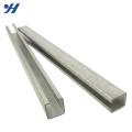 Preço de aço perfurado laminado a alta temperatura do canal do perfil c, canal de aço galvanizado de C