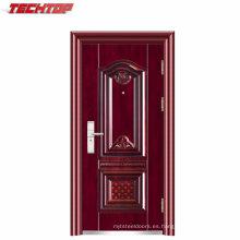 TPS-075 China Golden Supplier Security Apartment Building Entry Puertas de acero en venta