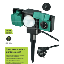 Garden Electrical Power Sockets