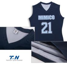 Wholesale Custom Design Polyester Sublimation Basketball Jersey&Sportswear