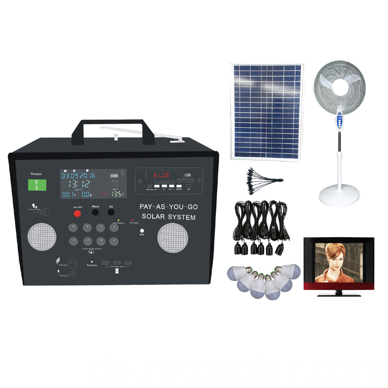 off-grid prepaid solar energy kit