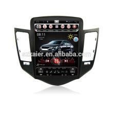 ¡Cuatro nucleos! DVD del coche de Android 6.0 para Cruze 2012 con la pantalla capacitiva vertical de 10.4 pulgadas / GPS / el vínculo del espejo / DVR / TPMS / OBD2 / WIFI