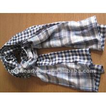 Fashional tejido bufanda en patrón de rayas