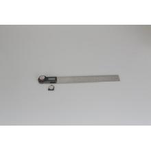 Maquinaria de 300 mm Herramientas manuales Regla plegable de acero inoxidable Prolongador de ángulo digital