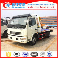 4*2 Heavy Duty Wrecker Truck 4 ton Road Flatbed Wrecker Vehicle