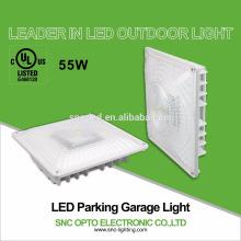 SNC Latest 55 Watt LED Parking Garage Canopy Light with UL CUL