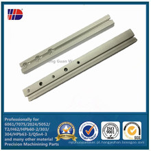 Usinagem CNC (peças do detector de moeda)
