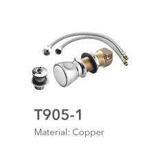 Copper bathroom accessory sets for bidet