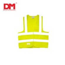 Polyester High Visibility clothes safety vest