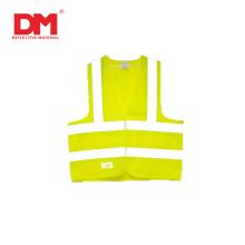 Жилет безопасности для одежды из полиэстера повышенной видимости