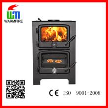 CE nível WM203, inserir Eco moldura de aço quente madeira lareira