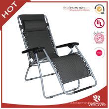 cadeira reclinável ao ar livre dobrável leve