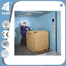 Steel Painted Capacity 3000kg Speed 0.5m/S Freight Elevator