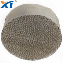 700CY metal silk screen wire gauze structured packing for distillation column