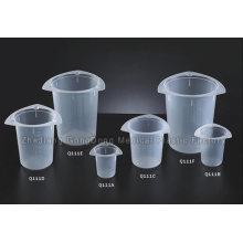 Vaso de precipitados Tri-Corner con aprobación CE 50ml, 100ml, 250ml, 400ml, 800ml