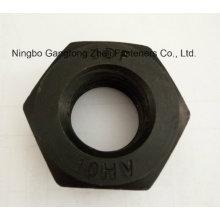 DIN6915 10 Hv Nuts / Estrutural / Preto, Placa de Zinco / HDG