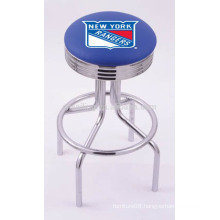Promotion Chrome Plated Swivel Synthetic Leather bar stools wholesale
