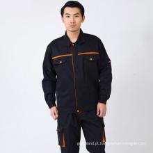 Jaqueta de vestuário para homens Coverall, Calças para calças de trabalho para carvão, Revestimento reflector de segurança