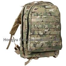 Sólido nylon resistente al desgaste al aire libre deporte escalada acampando acampando mochila (HY-B010)