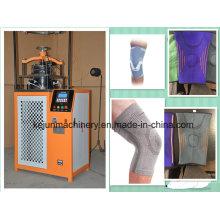 Alta velocidade 3 cores médico bandagem máquinas de confecção de malhas