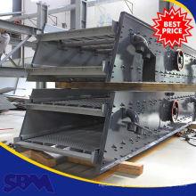 Carrière utilisé utilisé machine à tamis vibrant, machine à tamis de lavage de sable de rivière