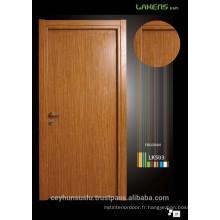 Cheap Price Teak Laminate Intérieur de la surface de la porte simple