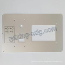 Panel de aluminio de la placa de mecanizado de fresado CNC para instrumentos y accesorios de sensores