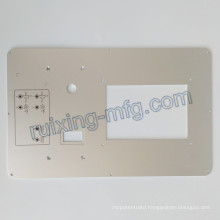 CNC Milling Machining Plate Aluminum Panel for Instruments and Sensor Accessories