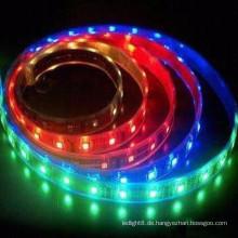 Hochwertige CE & ROHS Zertifizierung wasserdicht IP68 3528 smd rgb LED Streifen Licht