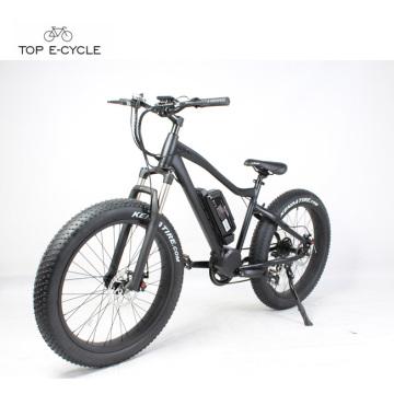 Prix de budget enduro 8Fun moteur à manivelle moyenne gros pneu descente vélo électrique de montagne