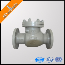 DH77X wafer butterfly check valve water spring check valve