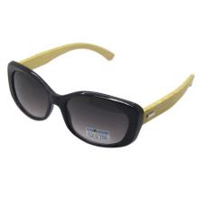 Atractivo diseño de moda de madera gafas de sol (sz5756)