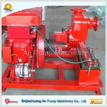 diesel engine driven portable fire pump