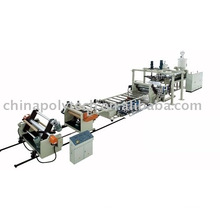 PE,ABS,PMMA multi-layer co-extrude sheet production line